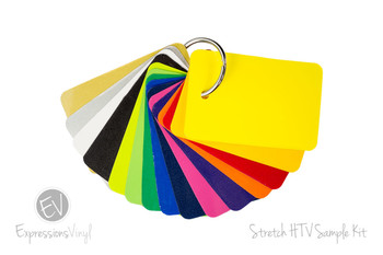 Stretch Heat Transfer - Color Sample Kit