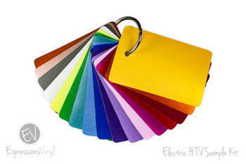 EasyWeed Electric Heat Transfer - Color Sample Kit