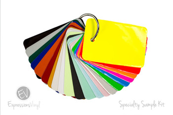 Specialty Vinyl - Color Sample Kit