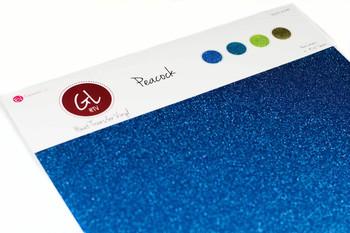 Peacock Pack - Glitter Heat Transfer