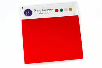 Merry Christmas Pack - Adhesive Glitter