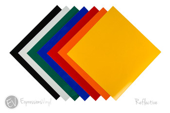 "Reflective Vinyl Collection 12""x12"""