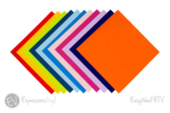 "EasyWeed Heat Transfer Vinyl Collection 12""x12"""