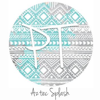 "12""x12"" Permanent Patterned Vinyl - Aztec Splash"