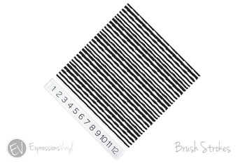 "12""x12"" Permanent Patterned Vinyl - Brush Strokes"