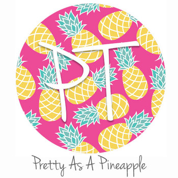 "12""x12"" Patterned Heat Transfer Vinyl - Pretty As A Pineapple"