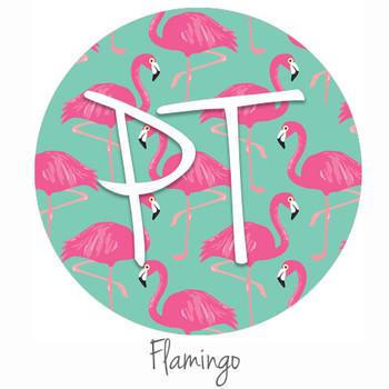 "12""x12"" Patterned Heat Transfer Vinyl - Flamingo"