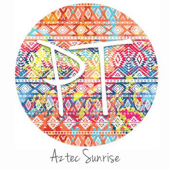 """12""""x12"""" Permanent Patterned Vinyl - Aztec Sunrise"""