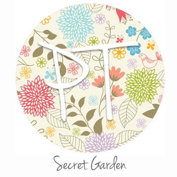 "12""x12"" Patterned Heat Transfer Vinyl - Secret Garden"