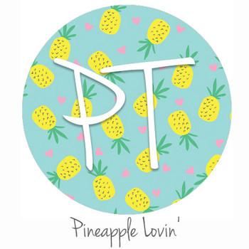 "12""x12"" Patterned Heat Transfer Vinyl - Pineapple Lovin'"