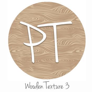 "12""x12"" Patterned Heat Transfer Vinyl - Wooden Texture 3"