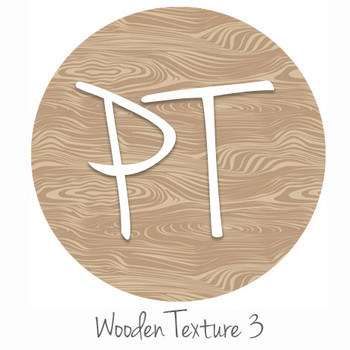 "12""x12"" Permanent Patterned Vinyl - Wooden Texture 3"