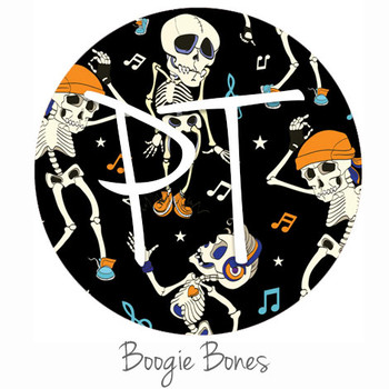 "12""x12"" Permanent Patterned Vinyl - Boogie Bones"