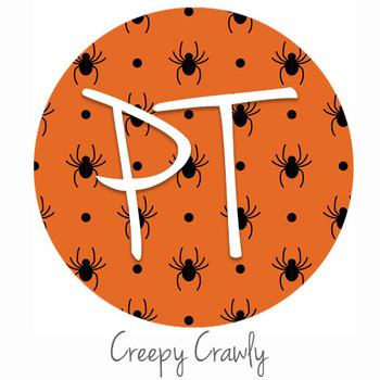 "12""x12"" Permanent Patterned Vinyl - Creepy Crawly"