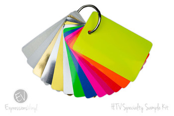 HTV Specialty Vinyl  - Color Sample Kit