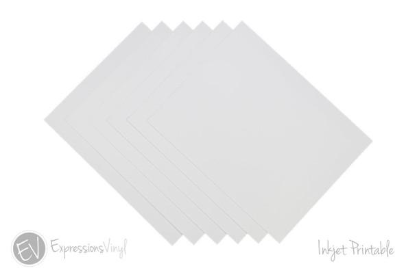 Rare image pertaining to inkjet printable vinyl sheets