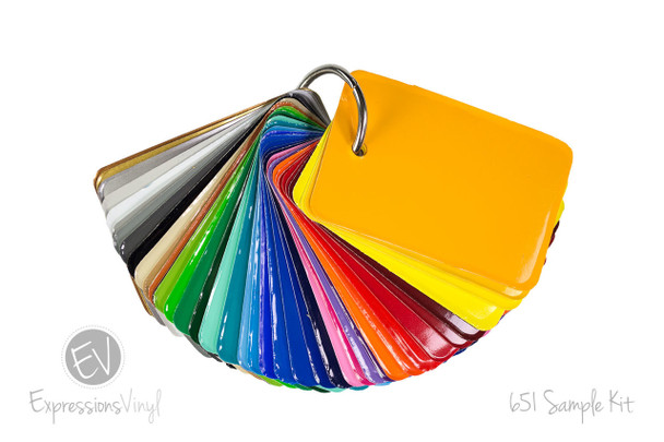 Oracal 651 - Color Sample Kit