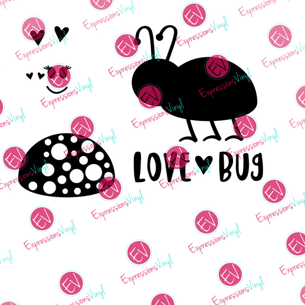 Love Bug Digital Cut File