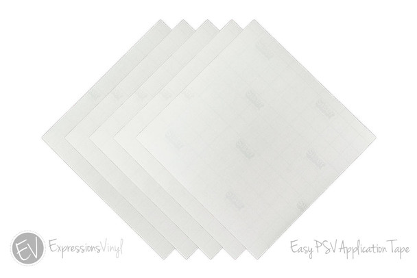 "EasyPSV Application Tape 12""x12"" Sheet"