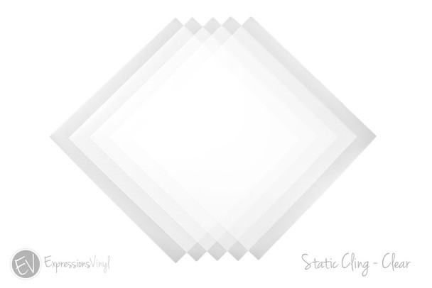 Static Cling Clear