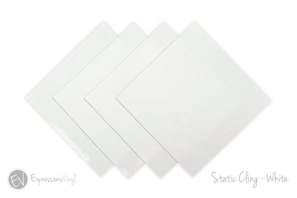 Static Cling White
