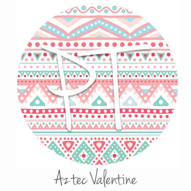 "12""x12"" Patterned Heat Transfer Vinyl - Aztec Valentine"