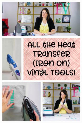 All the Heat Transfer Vinyl Tools!