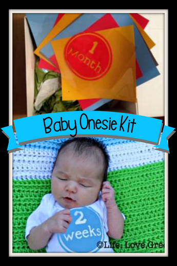 Baby Shower Gift (Onesie Stickers)