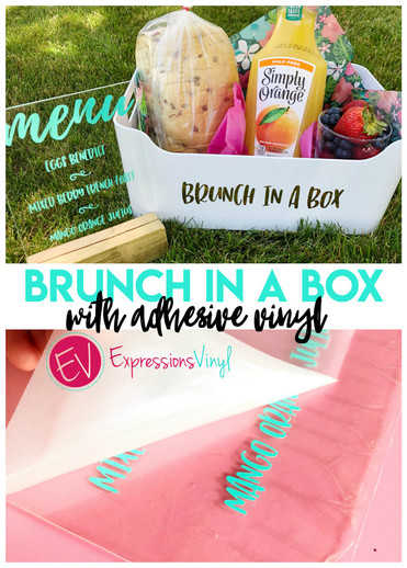 Brunch in a box with vinyl!