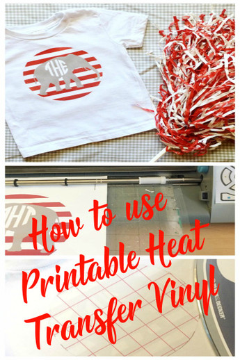 Candid image inside how to use printable heat transfer vinyl cricut