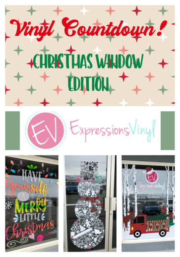 Vinyl Countdown - Christmas Window Edition!