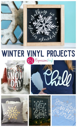 Vinyl Projects to make this Winter