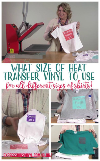 What Size Of HTV Do You Need For A Shirt?
