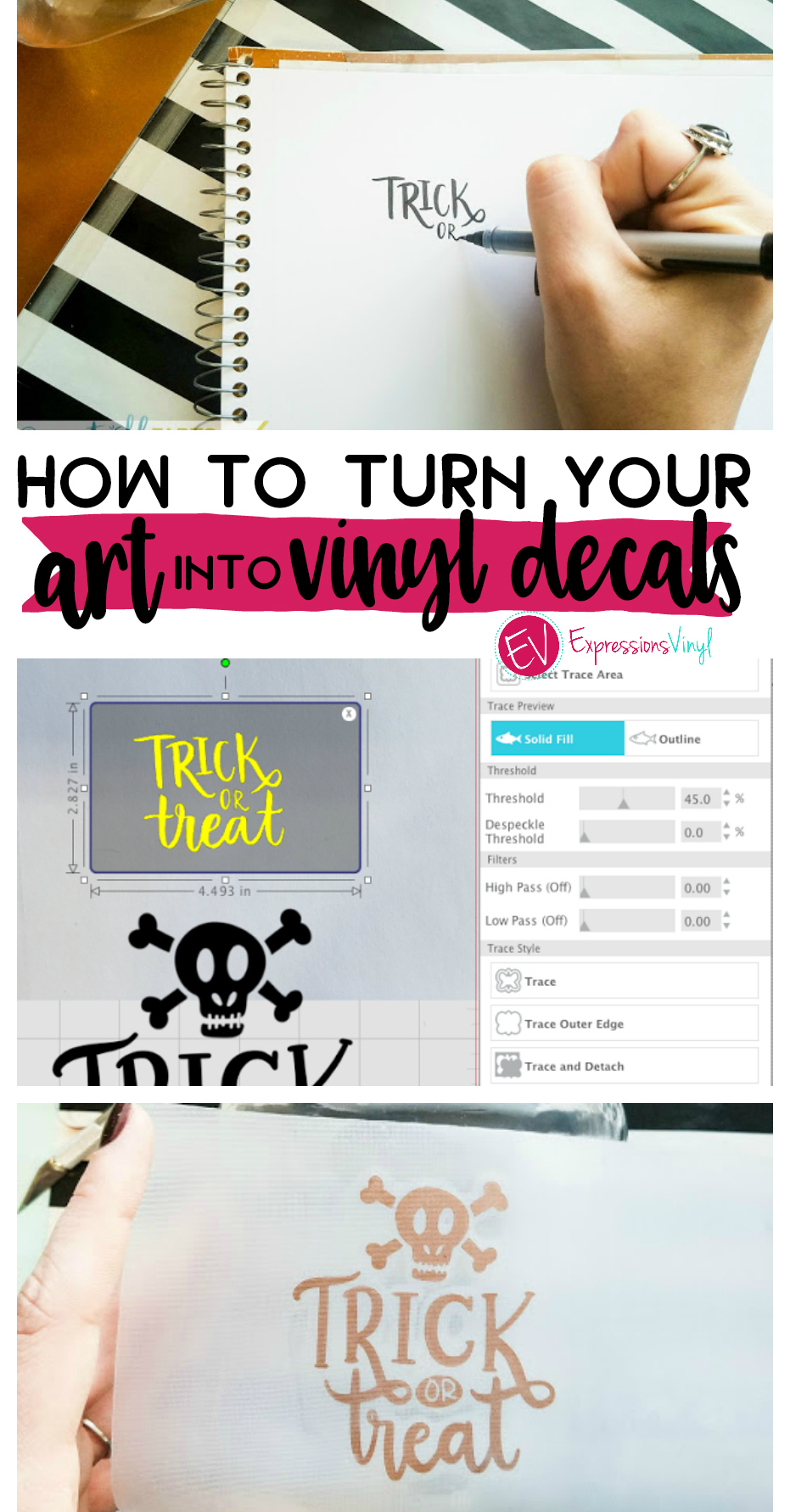 Turn Your Art Into Vinyl Decals Expressions Vinyl