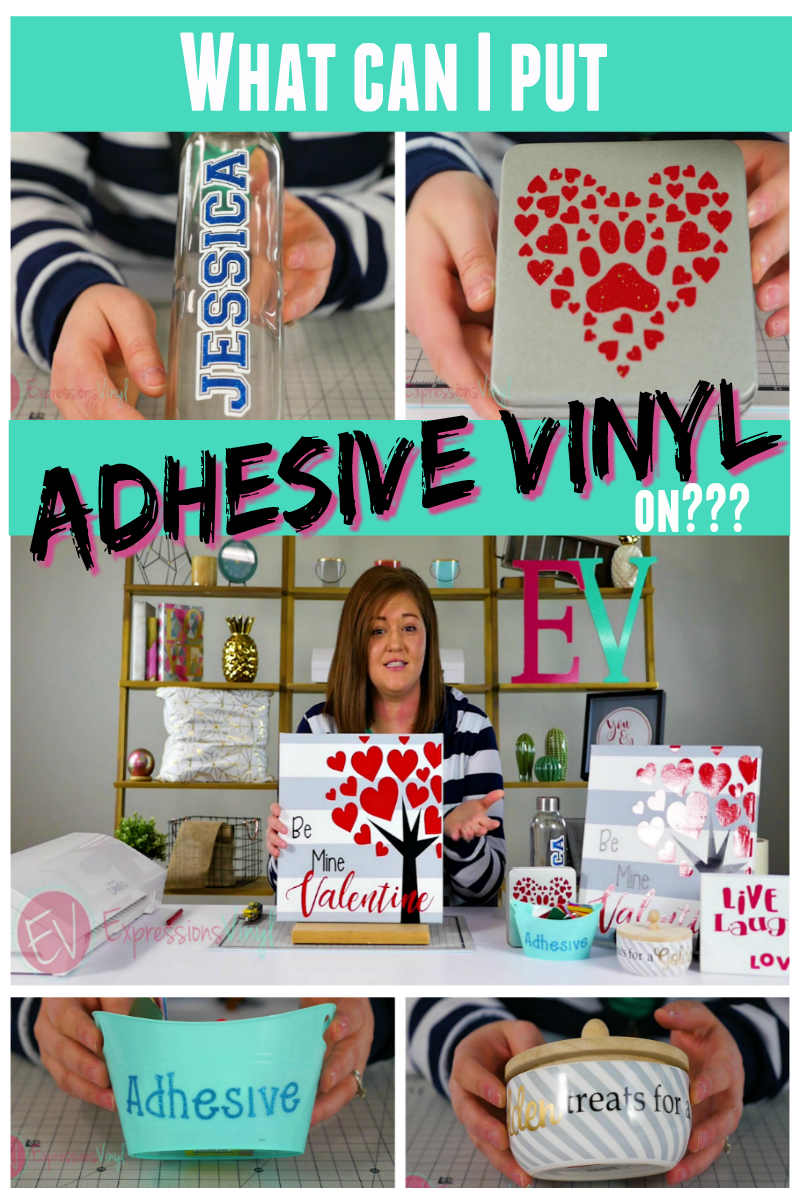 What Can You Apply Adhesive Vinyl Onto Expressions Vinyl