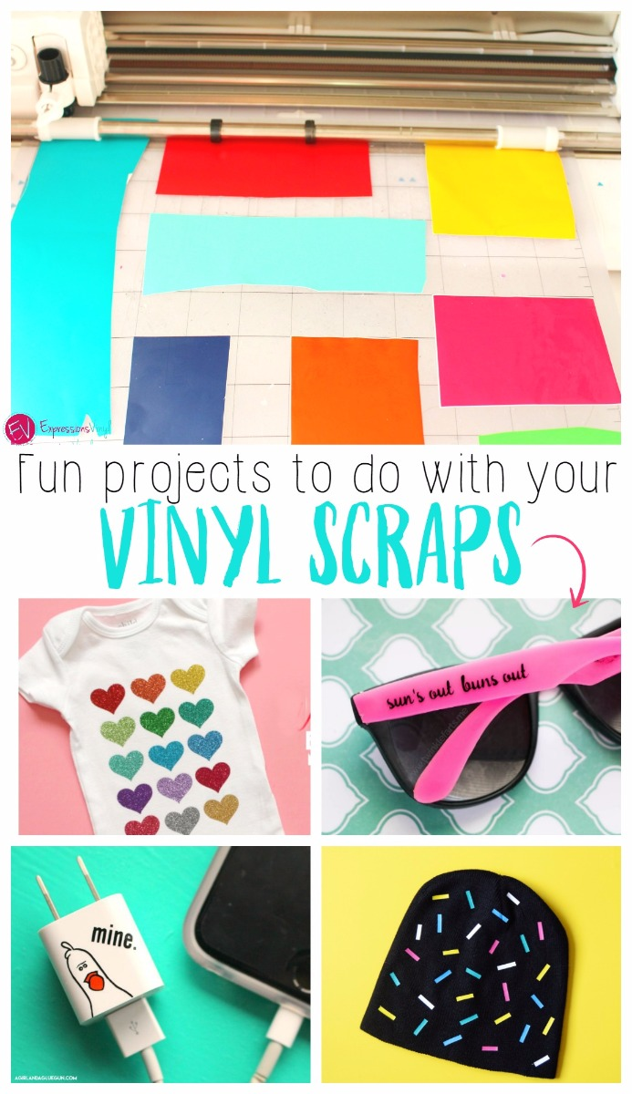 my craft vinyl get inspired projects to use all your vinyl scraps 2528