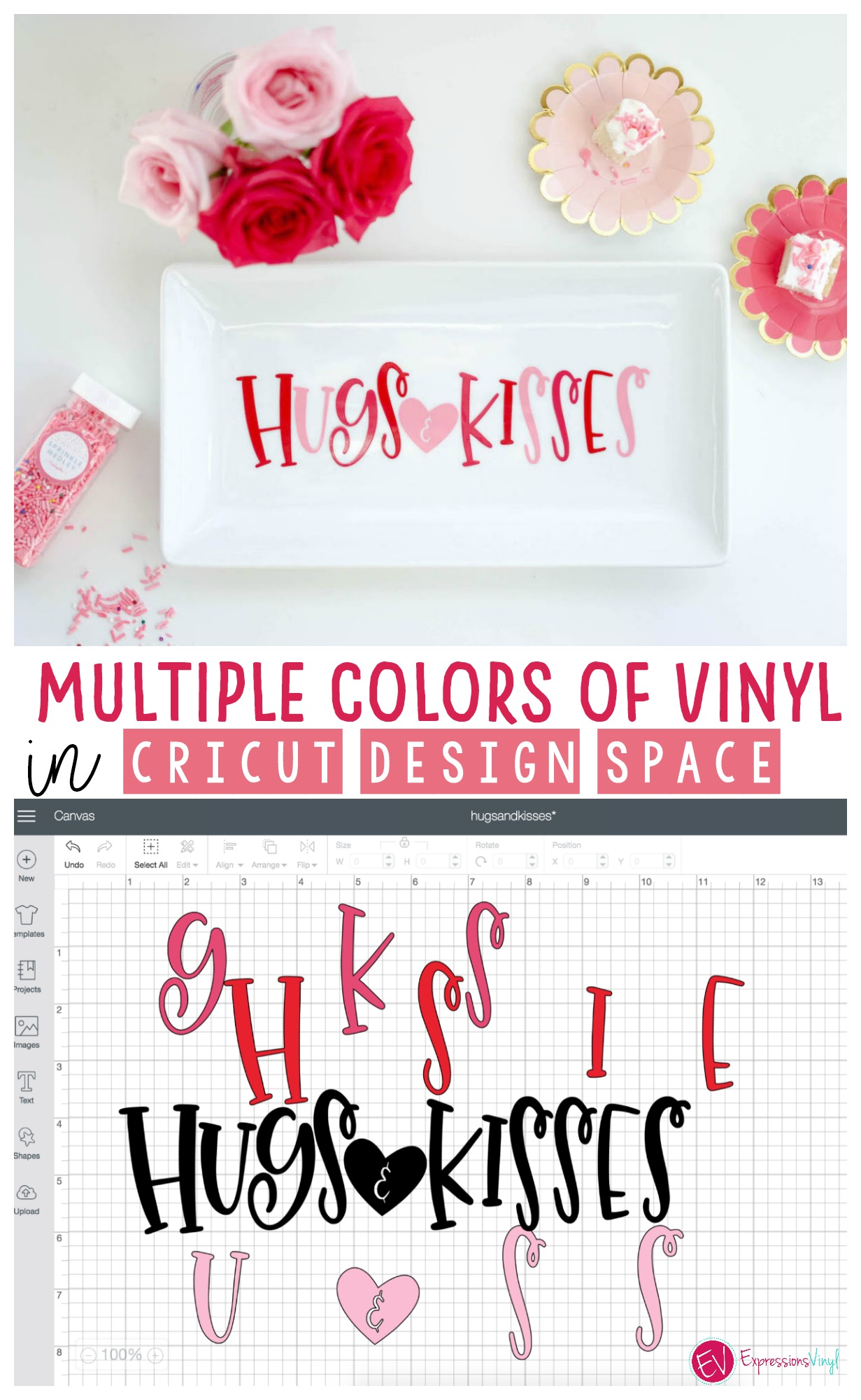 Using multiple colors of vinyl - Expressions Vinyl