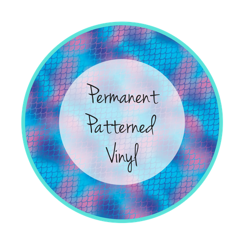 Permanent Patterned Vinyl