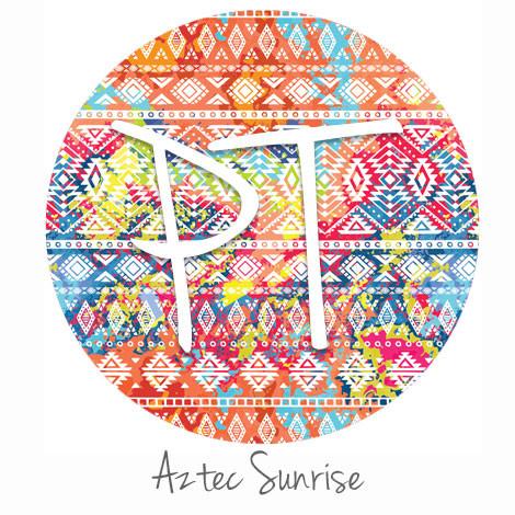 40x40 Patterned Heat Transfer Vinyl Aztec Sunrise Expressions Gorgeous Patterned Heat Transfer Vinyl