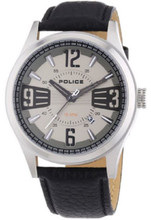 Police Lancer Men's Gents Genuine Leather Strap Analog Quartz Watch with Date - PL-13453JS/61
