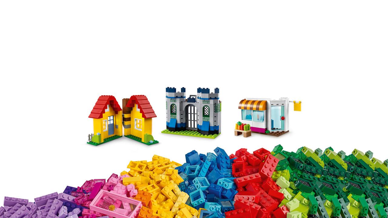 Lego Classic Creative Builder Box Uncle Petes Toys 10709 Orange Creativity