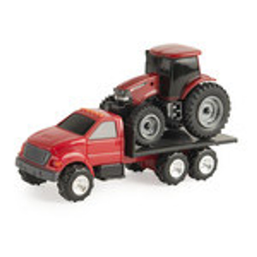 1:64 TRUCK WITH CASE TRACTOR