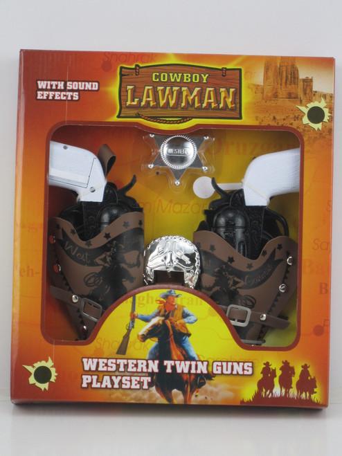 TWIN WESTERN GUN PLAY SET