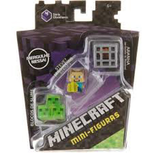 MINECRAFT MINI FIGURES - SLIME