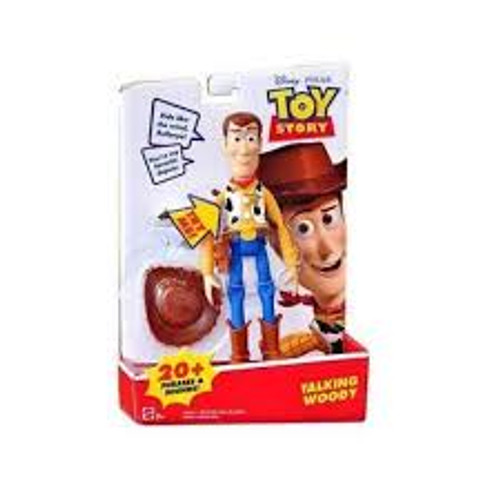 TOY STORY 6 INCH TALKING WOOD