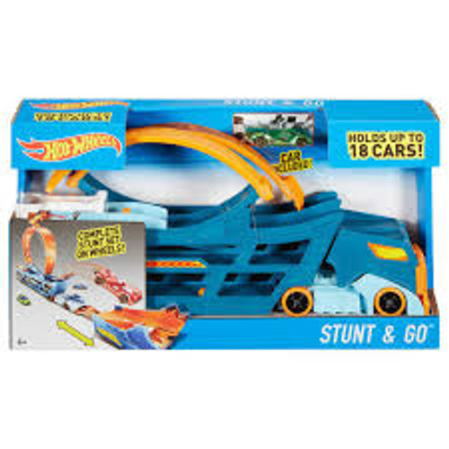 HOT WHEELS STUNT N GO MOBILE TRACK SET