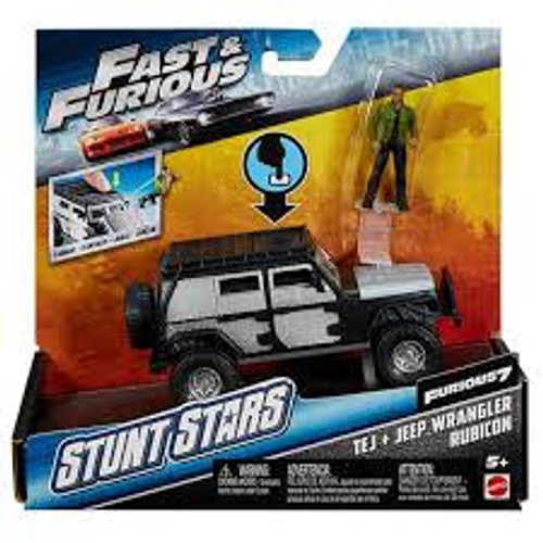 FAST & FURIOUS STUNT STAR TEJ + JEEP WRANGLER RUBICON