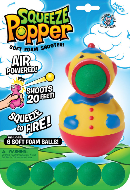 HW - CLOWN SQUEEZE POPPER