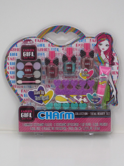 FASHION GIRL NAIL & MAKE UP SET