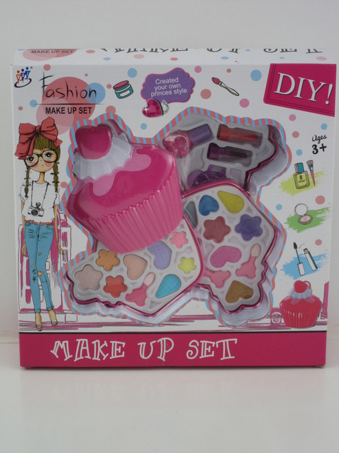 CUPCAKE MAKE UP SET - 3 TRAY
